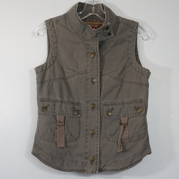 B.B. Dakota Jackets & Blazers - B B  Dakota Gray Vest